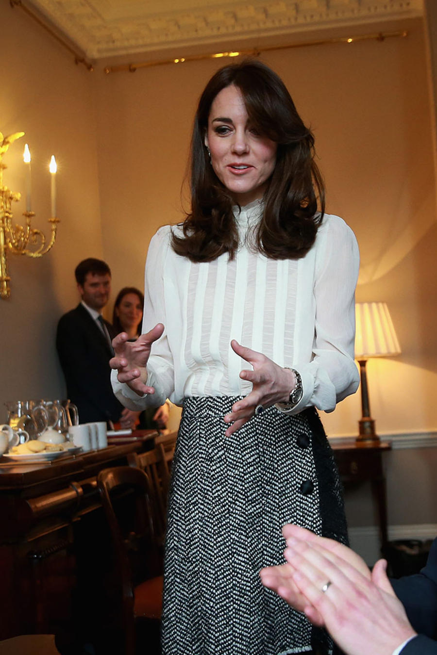 Kate Middleton habla en Huffington Post