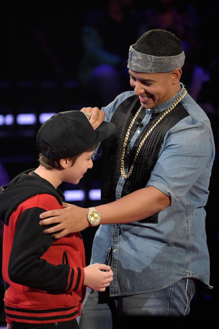 Daniel Daddy Yankee audición a ciegas La Voz Kids 2016