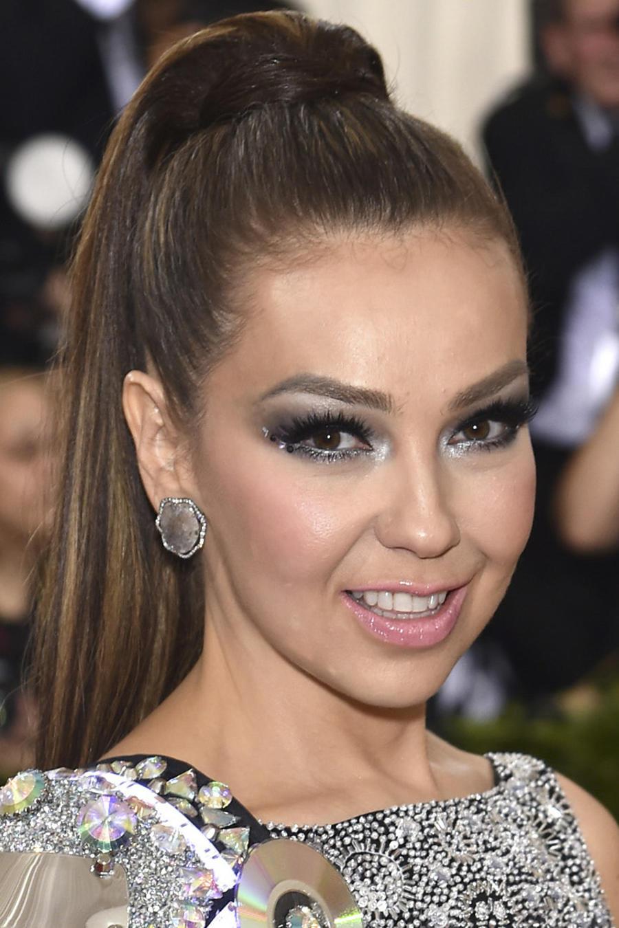 Thalía en la gala del MET