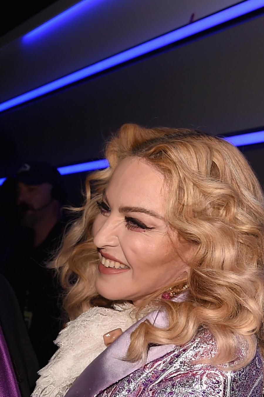 Madonna y Stevie Wonder en los 2016 Billboard Music Awards