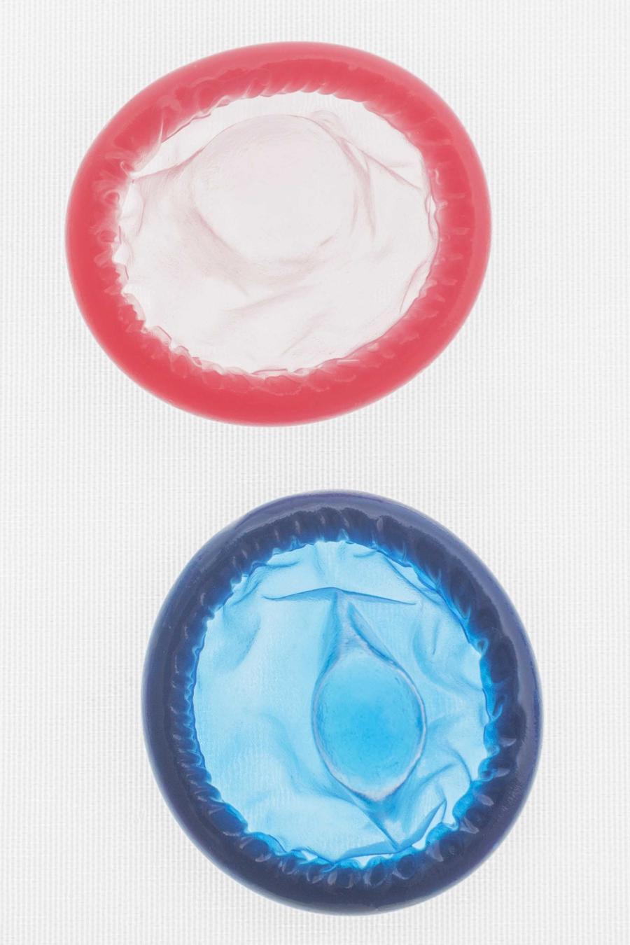 Condones de distintos colores