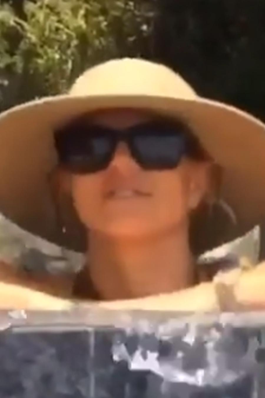 Britney Spears disfruta del Memorial Day weekend 2016