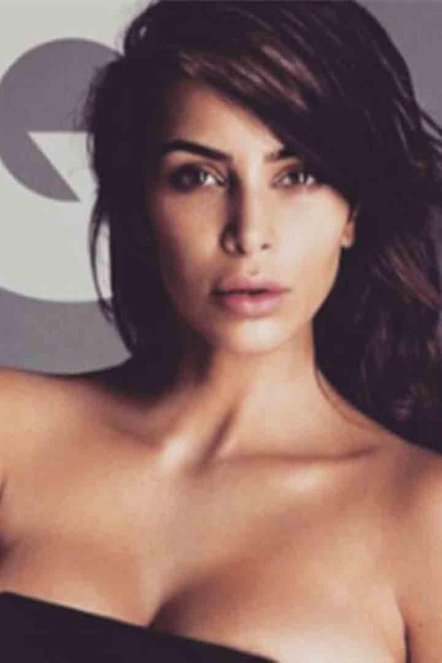 Kim Kardashian desnuda en 'GQ' 2016