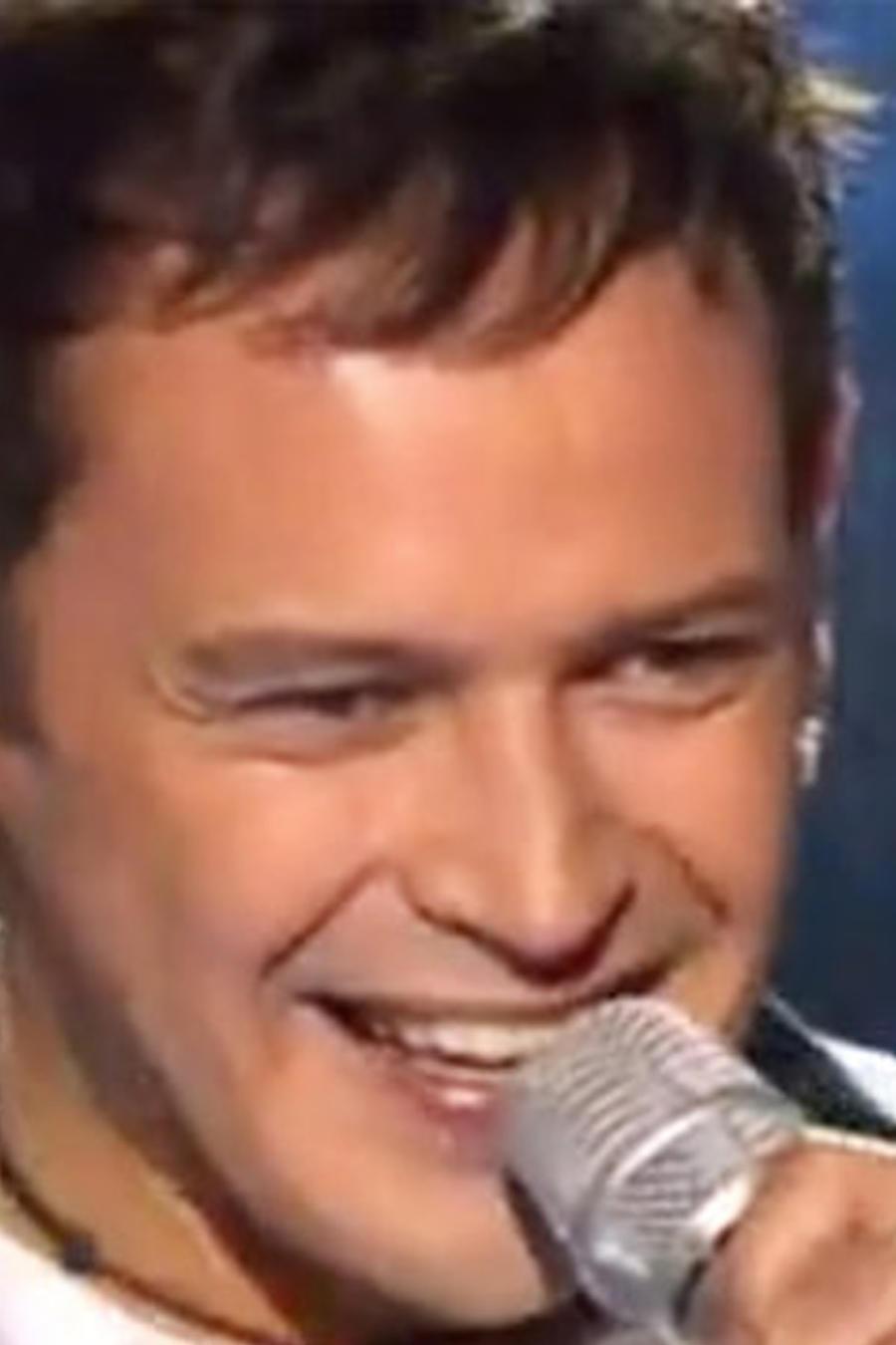 Alejandro Fuentes en su audición en La Voz Mexico