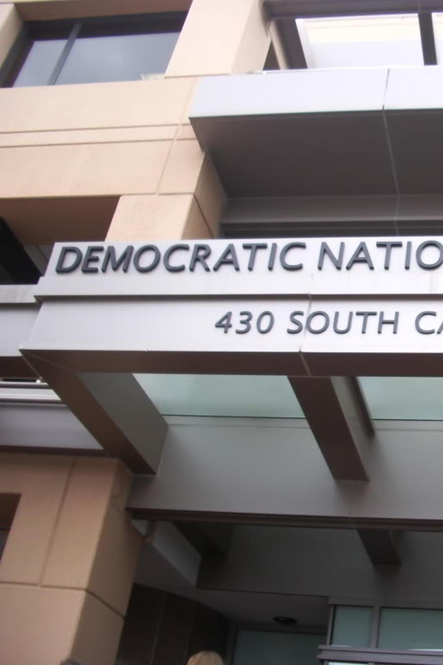 La sede del Comité Nacional Demócrata