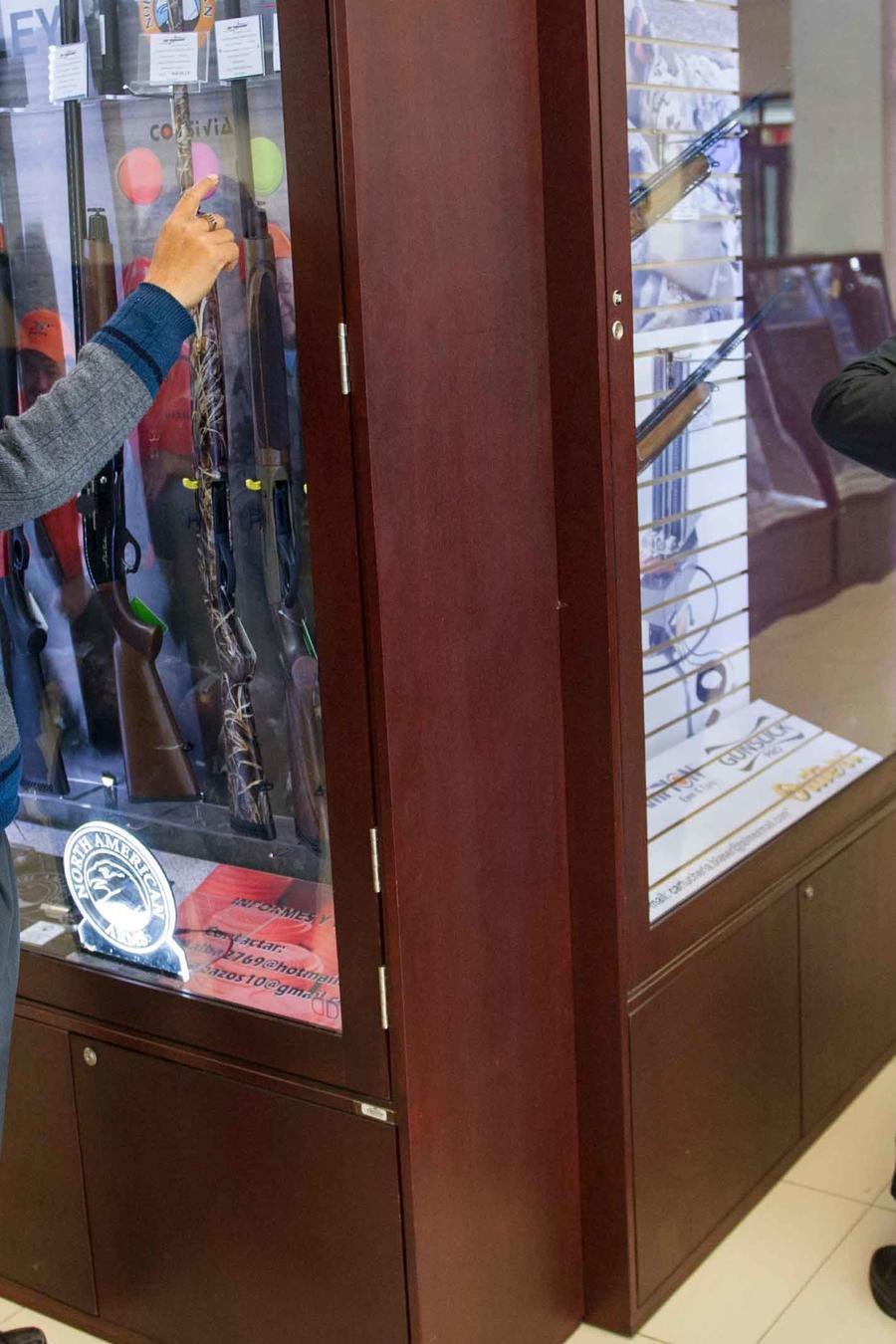 unica tienda de armas legal en mexico