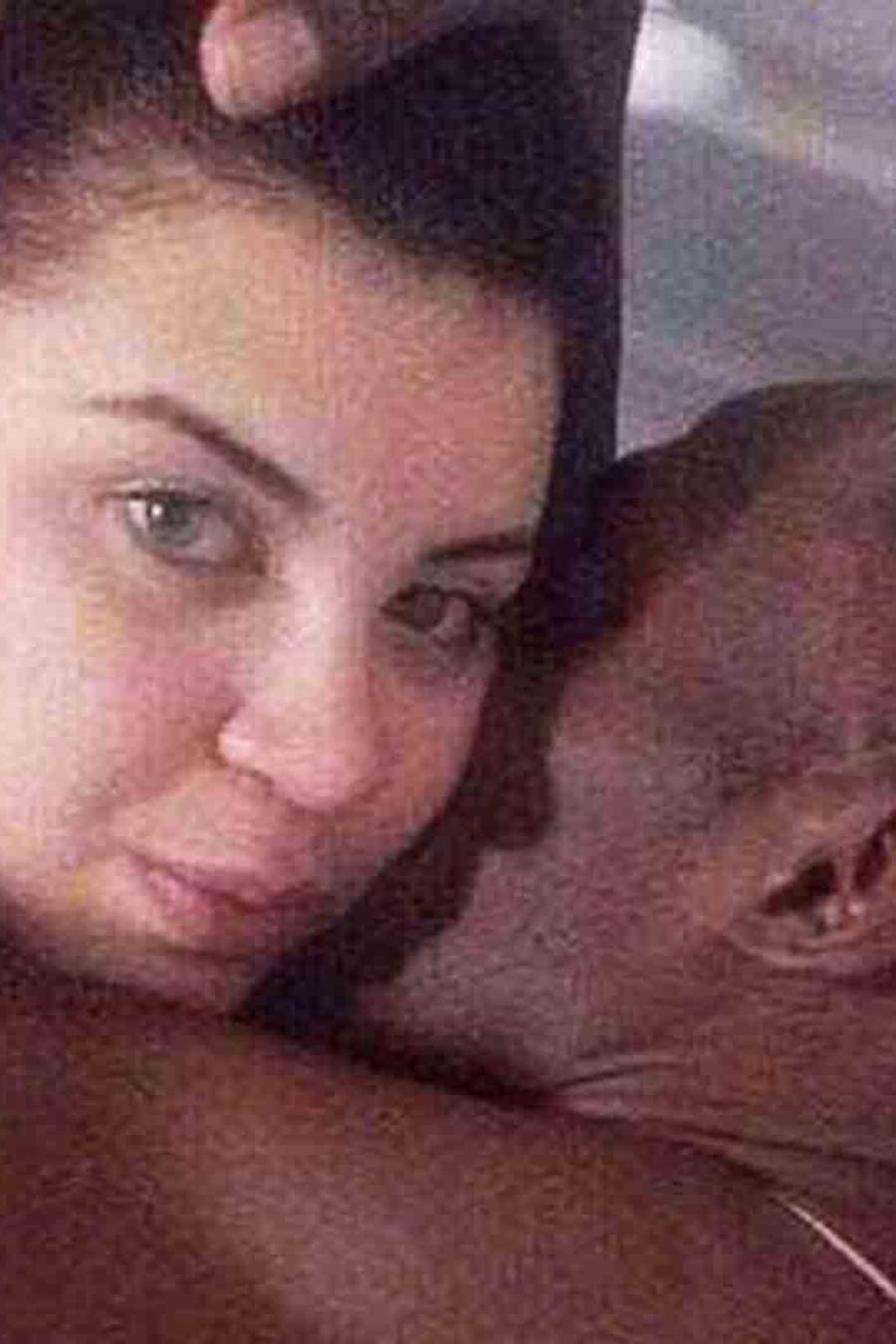 Usain Bolt y Jady Duarte en la cama