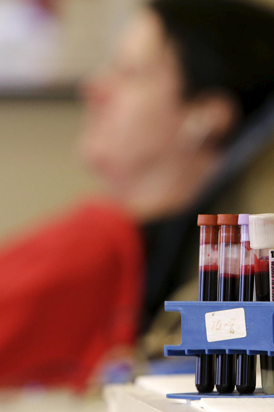 Donante de sangre en Washington