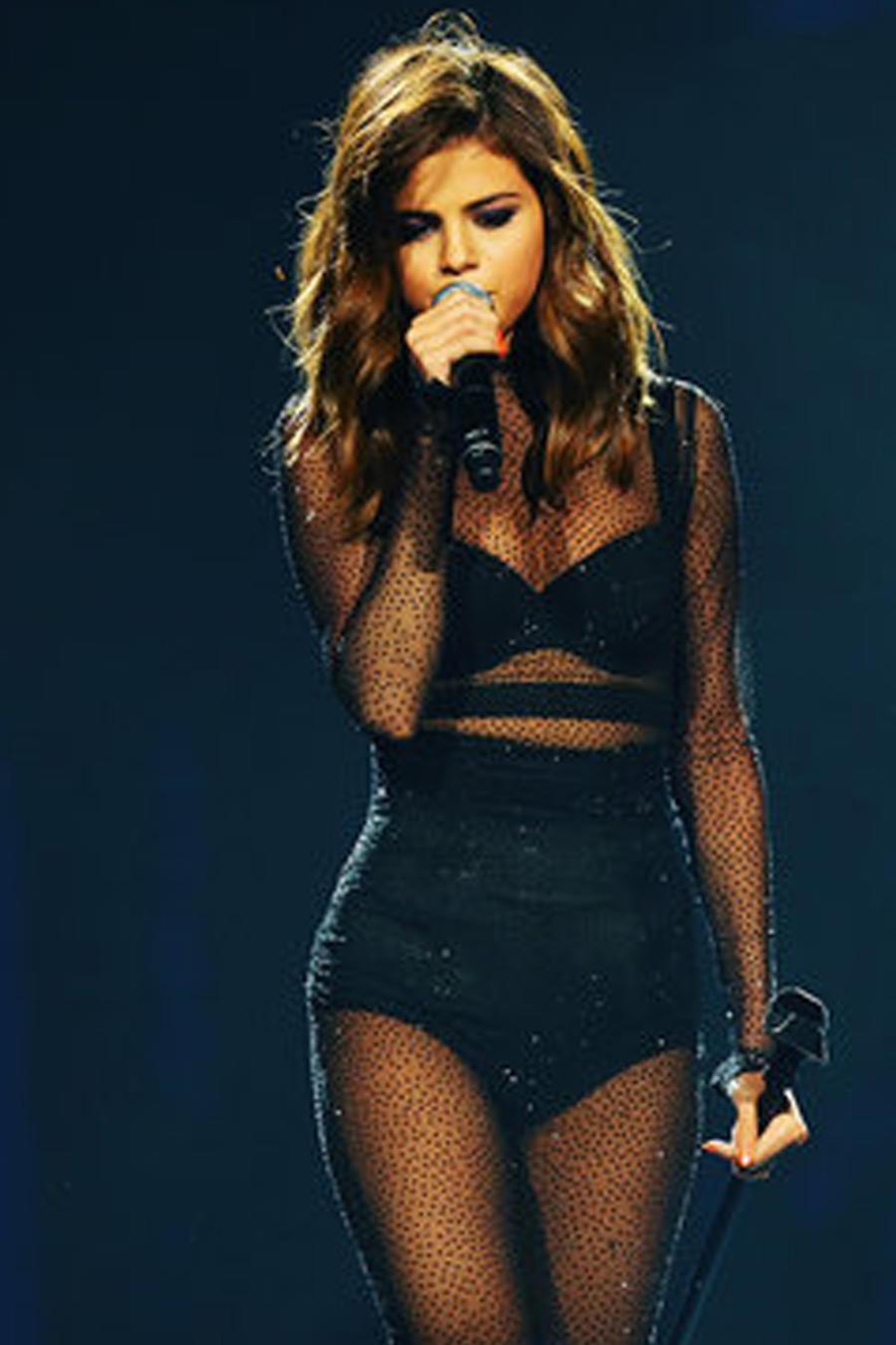Selena Gomez en concierto