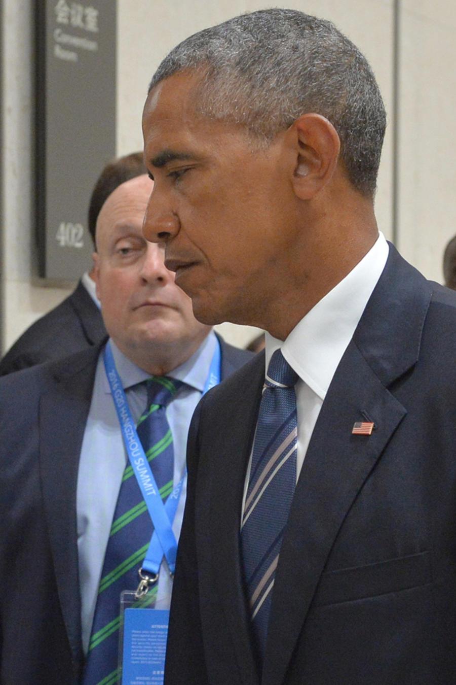 El presidente de EEUU, Barack Obama y su homólogo de Rusia Vladimir Putin durante una reunión en China el 5 de Septiembre del 2016