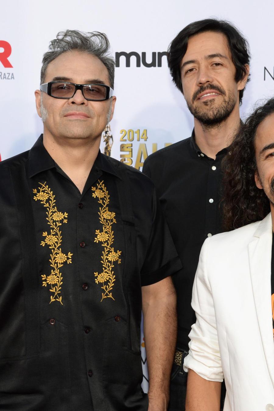Cafe Tacvba en los ALMA Awards 2014 en Pasadena Civic Auditorium