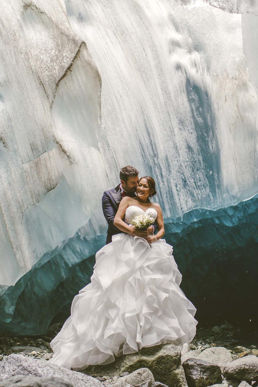 Ice Cave Wedding