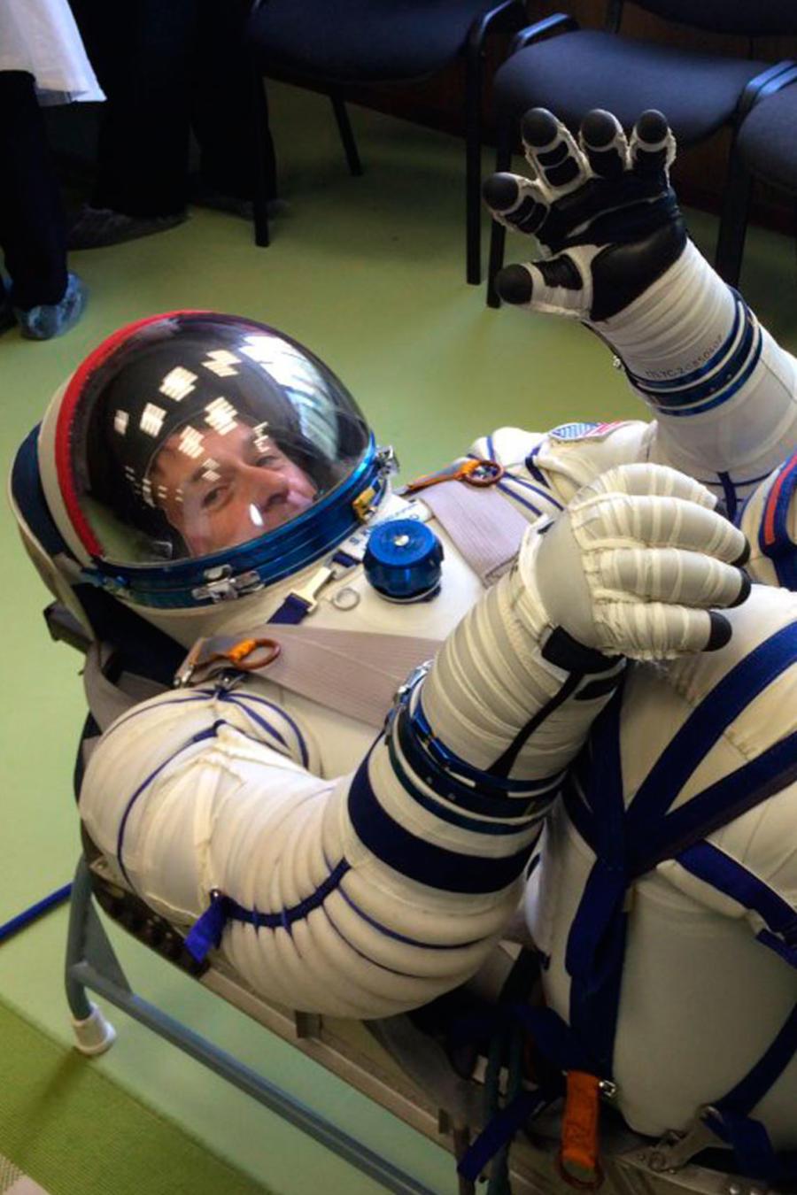 Shane Kimbrough y la Estación Espacial Internacional