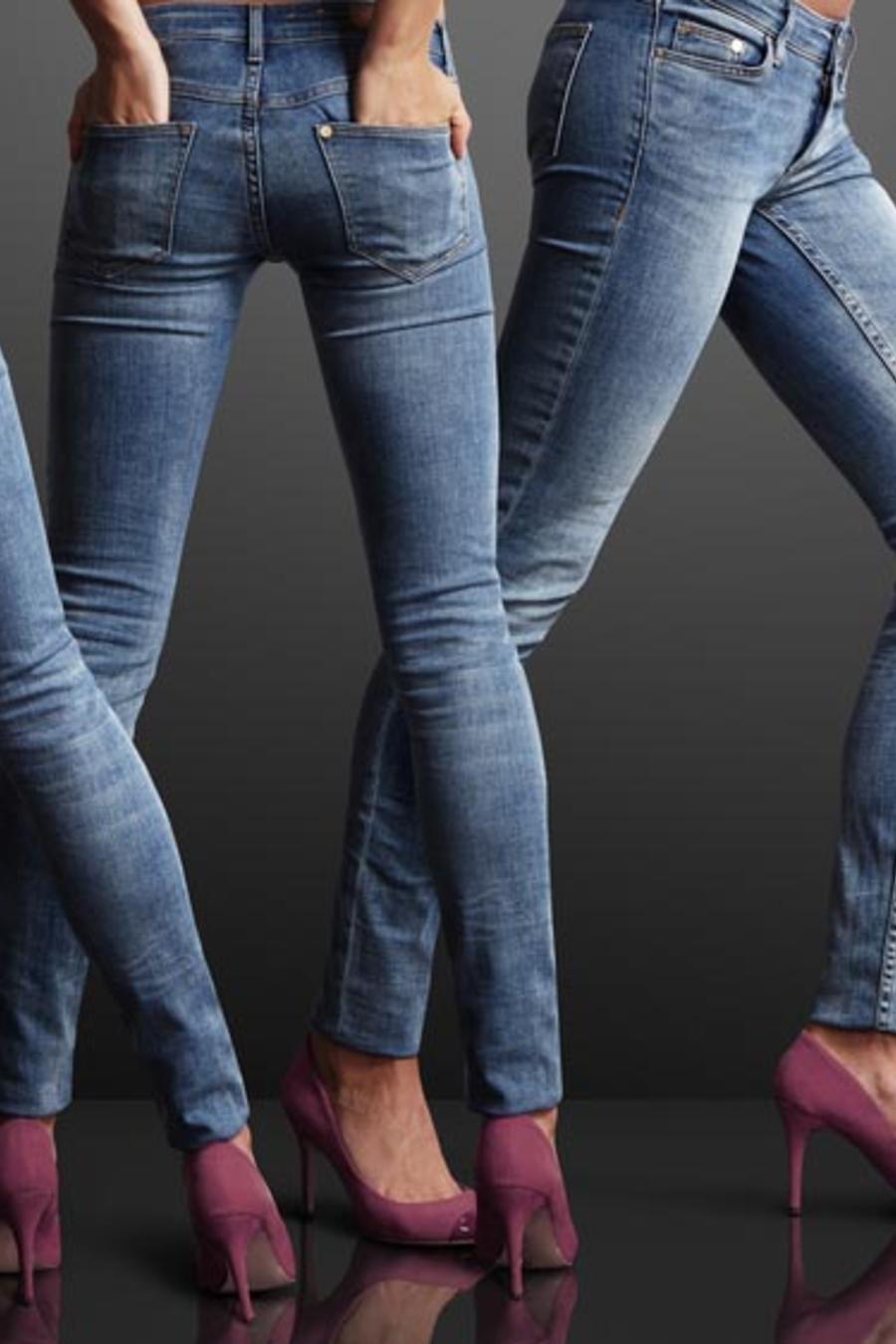 Skinny Jeans con tacones