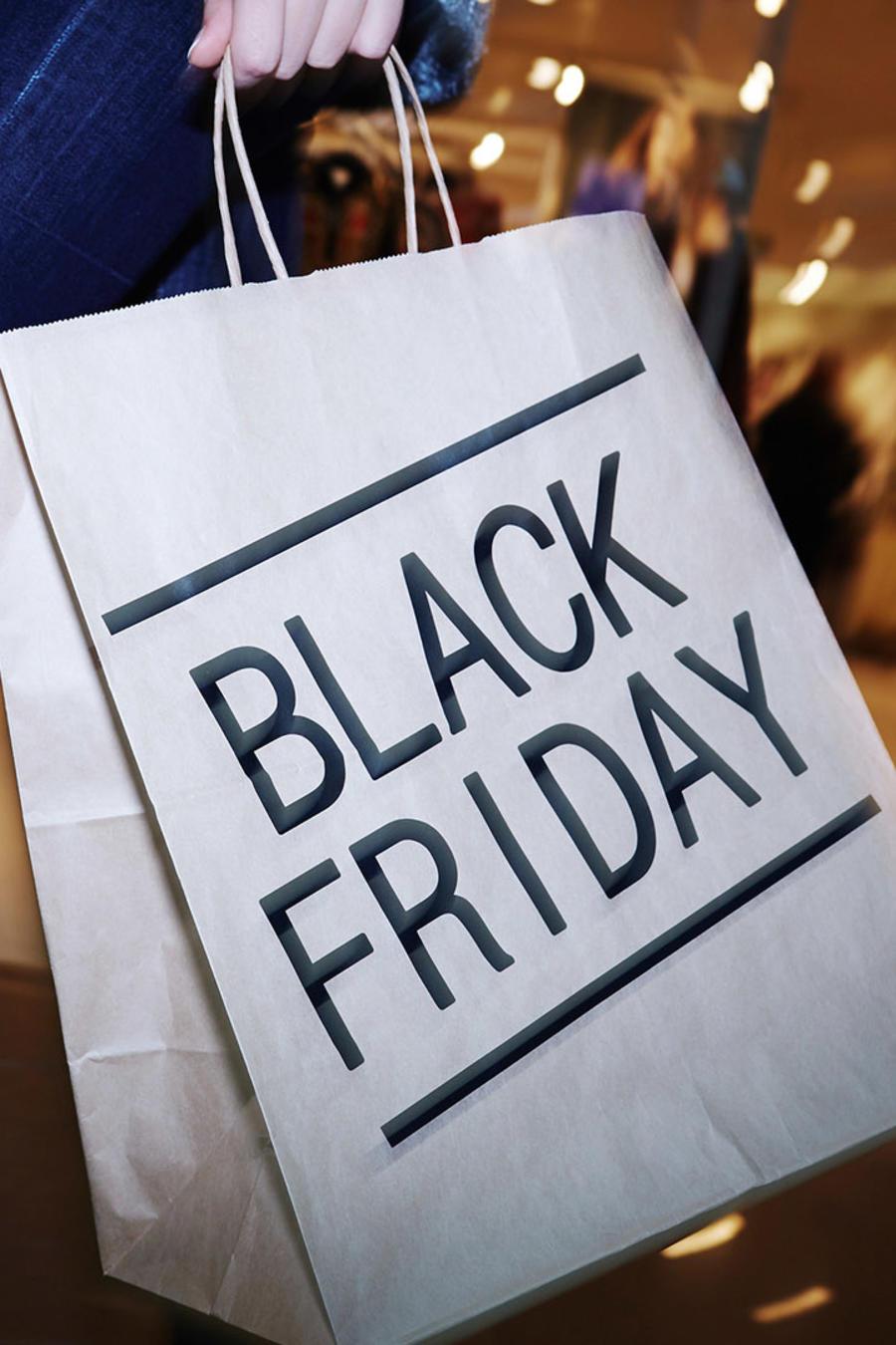 Bolsa de compras de black friday