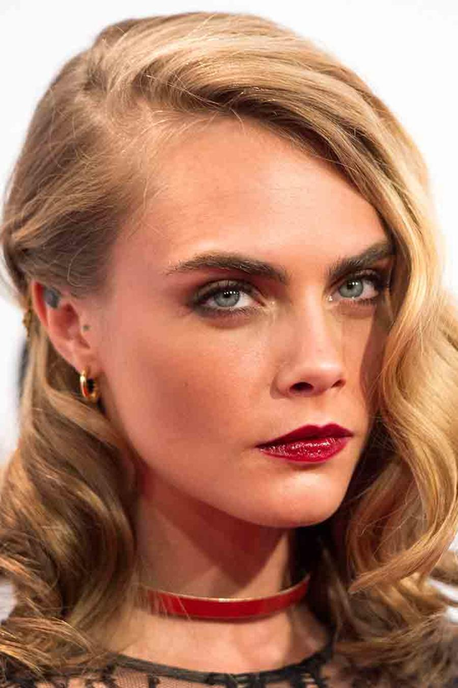 Cara Delevingne en los premios Glamour Women of the Year