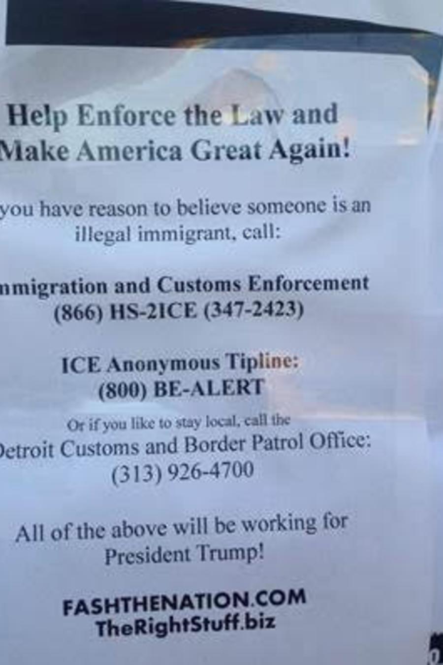 volantes discriminatorios en Detroit