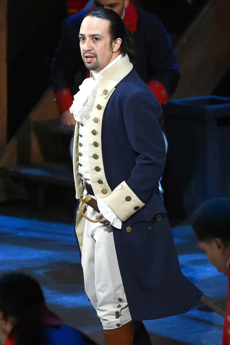 Lin Manuel Miranda en Broadway