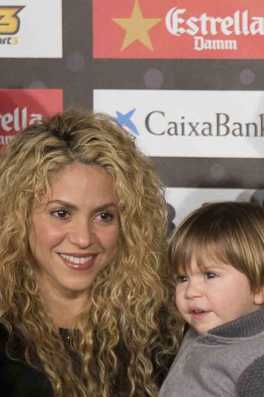 Shakira Piqué Milan Sasha