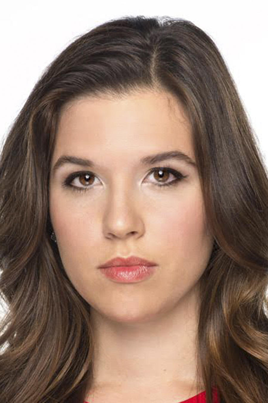 Close up del rostro de Amanda Gonzalez