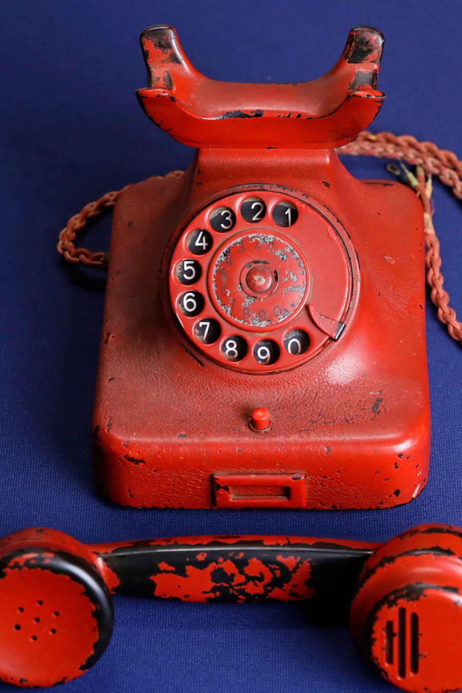 Teléfono que perteneció a Adolfo Hitler