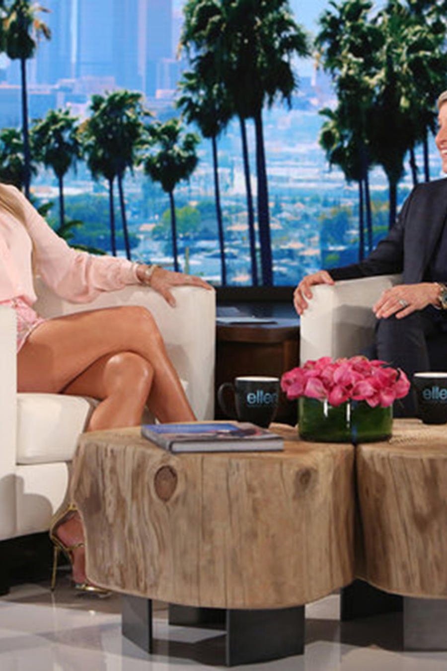 Jennifer Lopez en el show de Ellen