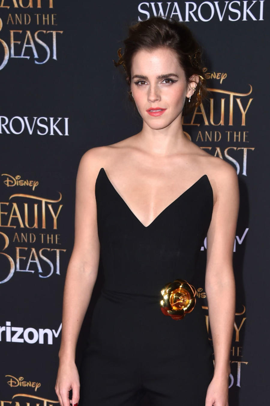 "Emma Watson y Chrissy Teigen en la premiere de ""Beauty and the Beast"" en LA"