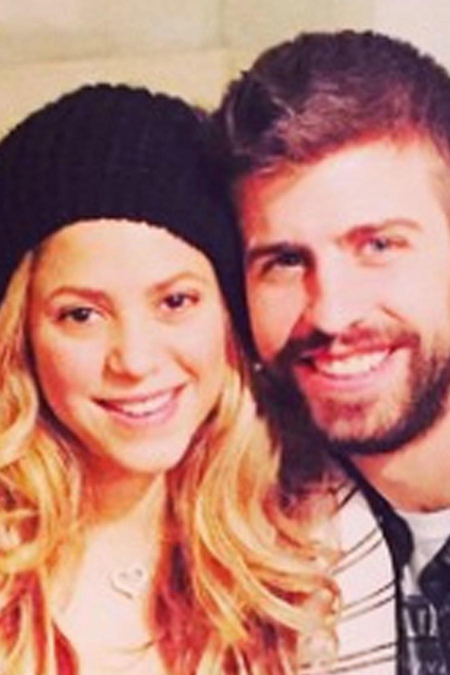 Shakira posa como una leona