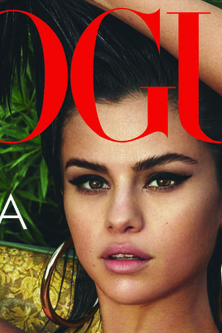 Selena Gomez en la portada de Vogue