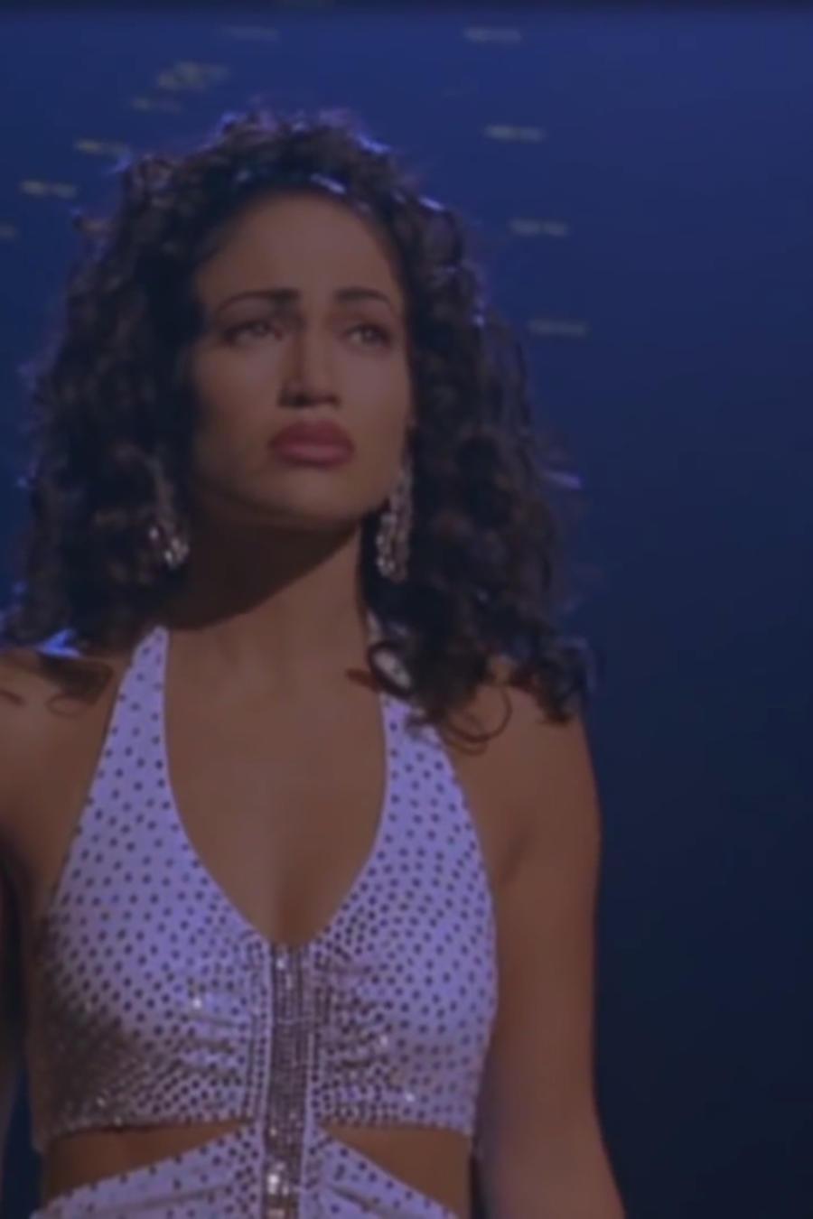 Jennifer Lopez en la película de Selena