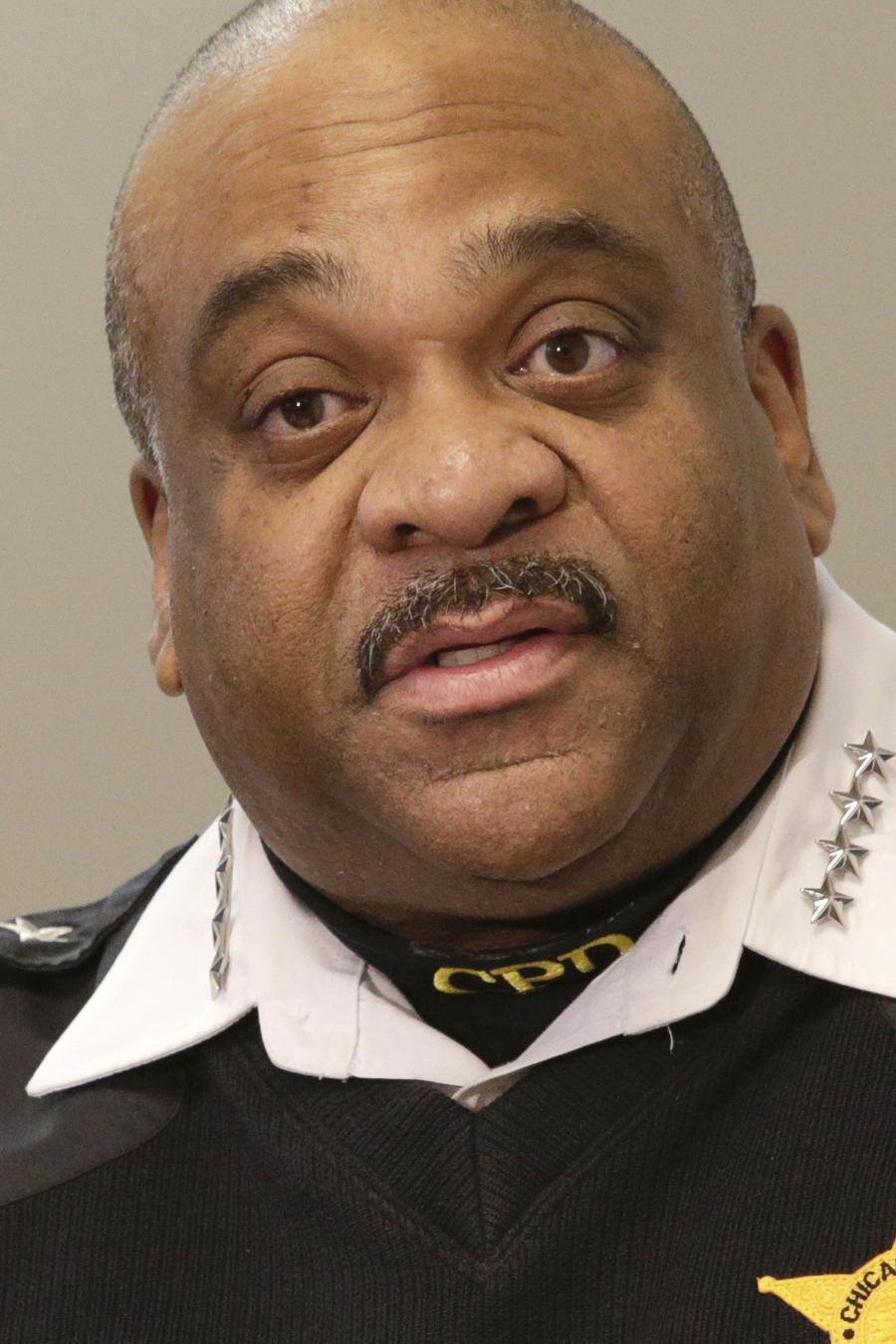 Eddie Johnson, jefe de la policía de Chicago