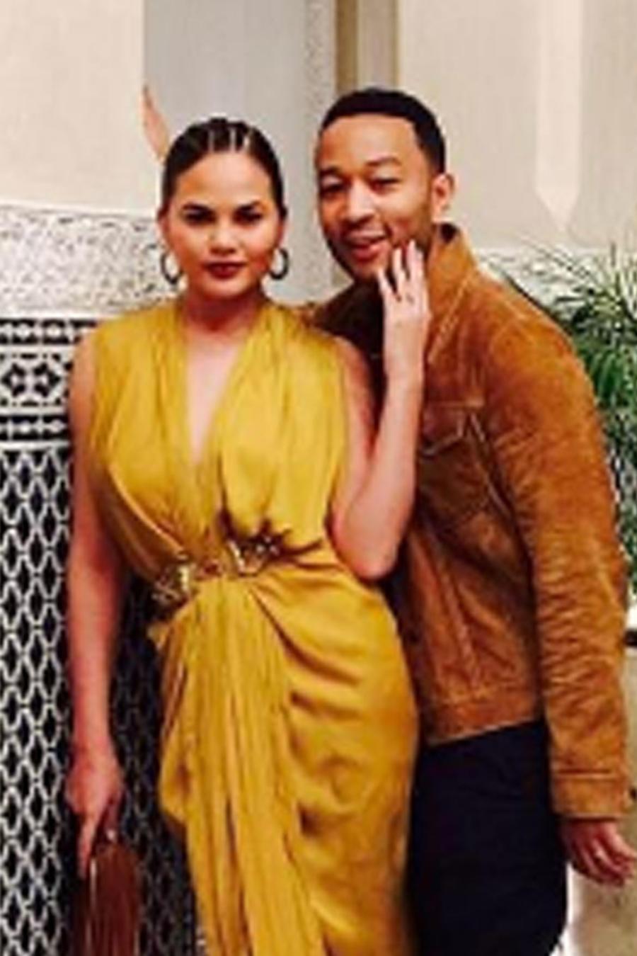 Chrissy Teigen y John Legend de vacaciones en Marruecos