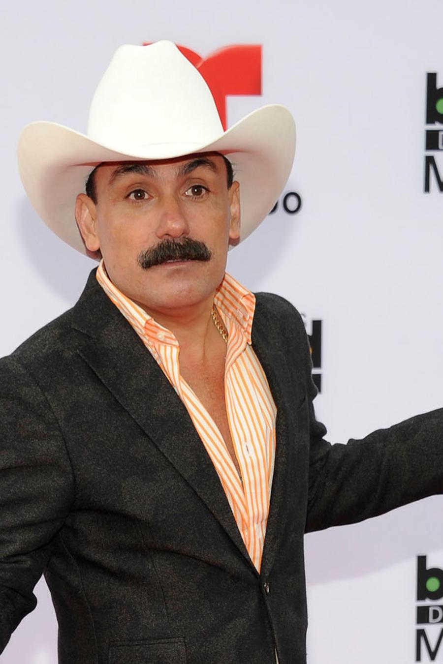 El Chapo de Sinaloa en la alfombra roja de los Premios Billboard de la Música Mexicana