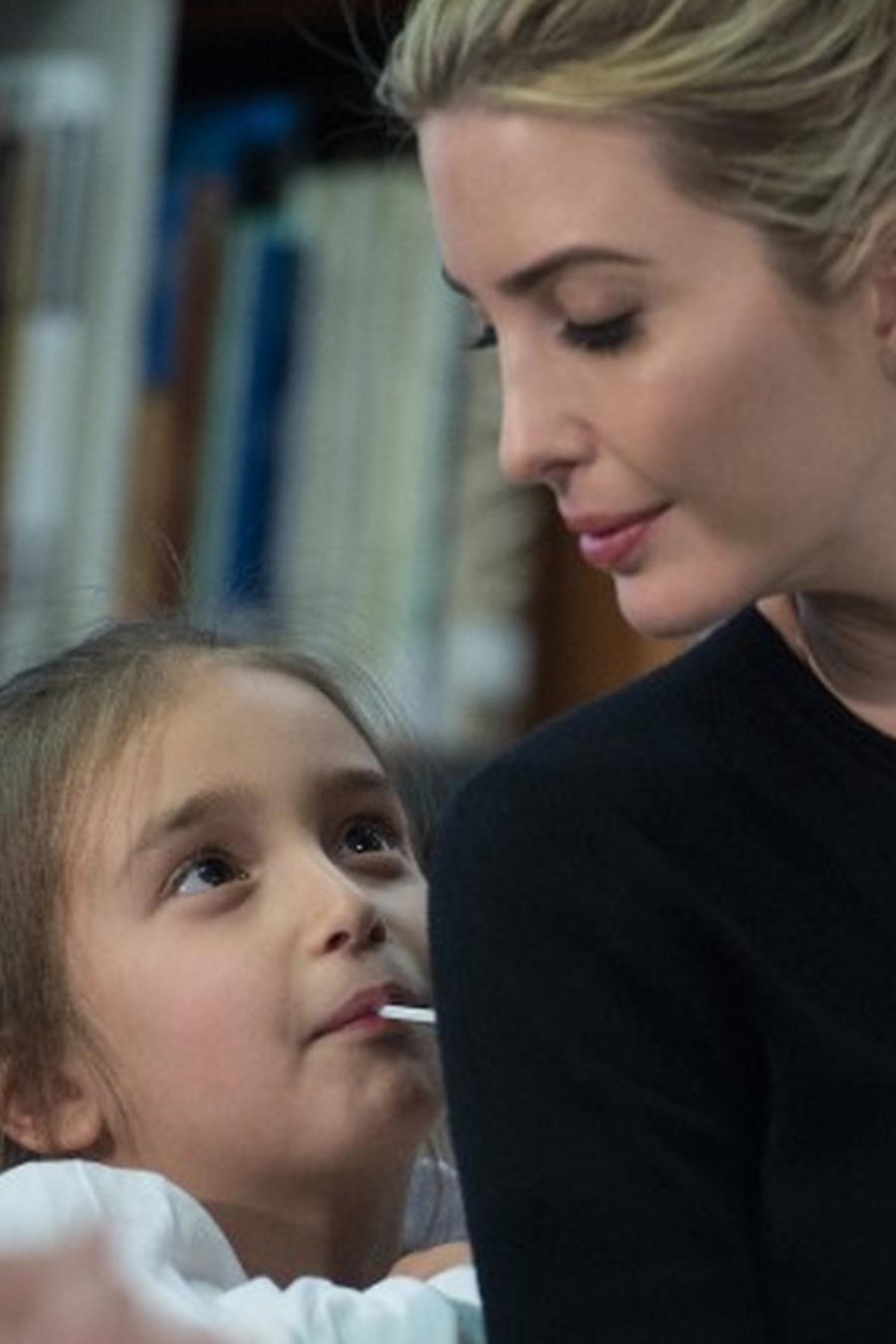 Ivanka Trump y su hija Arabella de 5 años