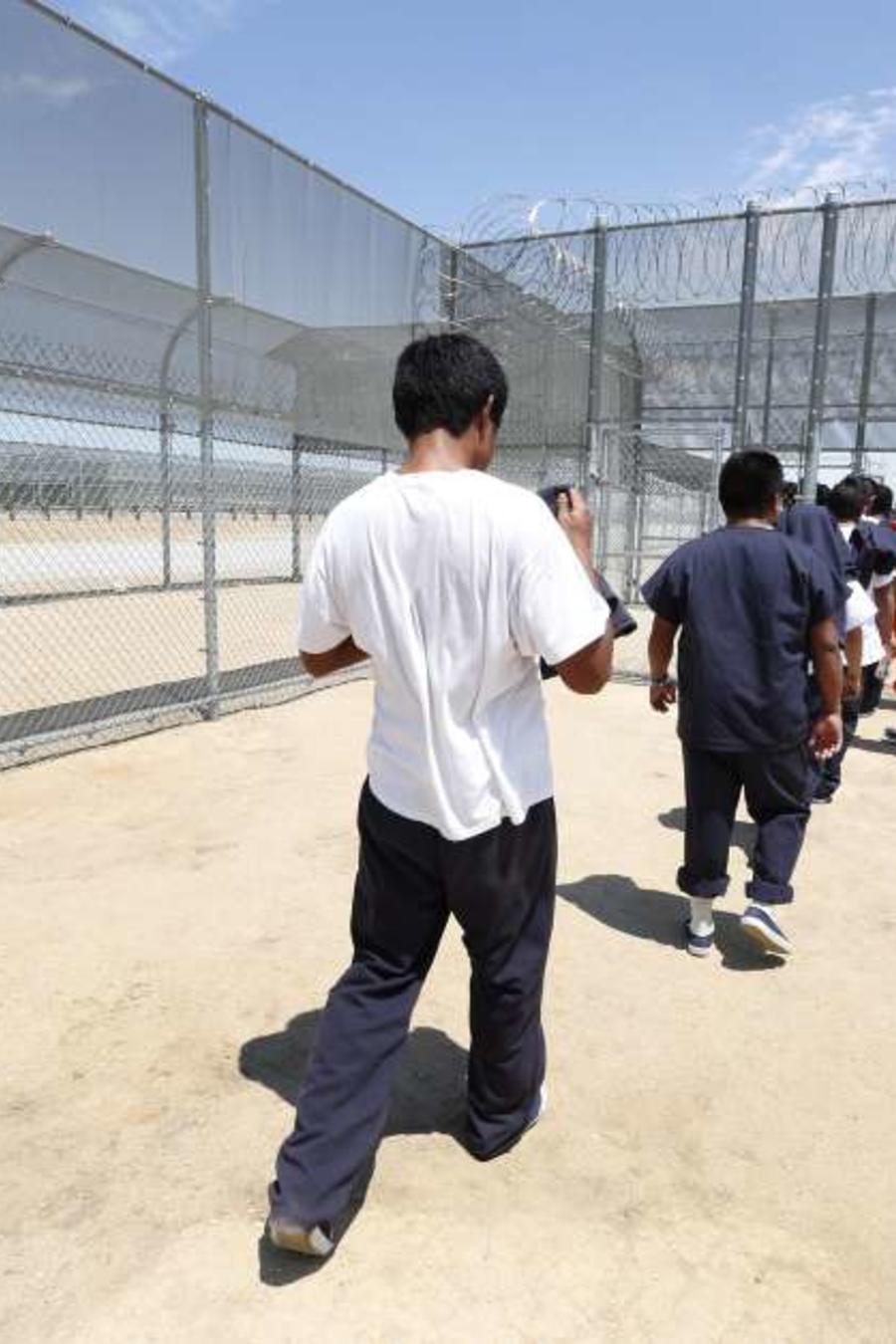 Centro de detención de inmigrantes en California