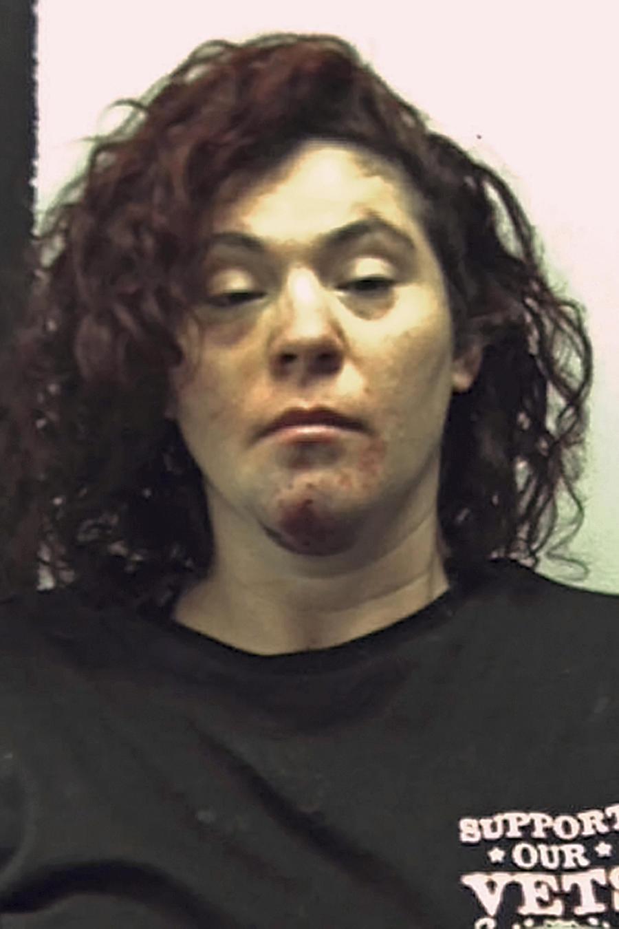 Holly Lynn Donahoo, que fue arrestada el martes, 2 de mayo del 2017, por conducir en estadio de ebriedad y eludir a la policía.