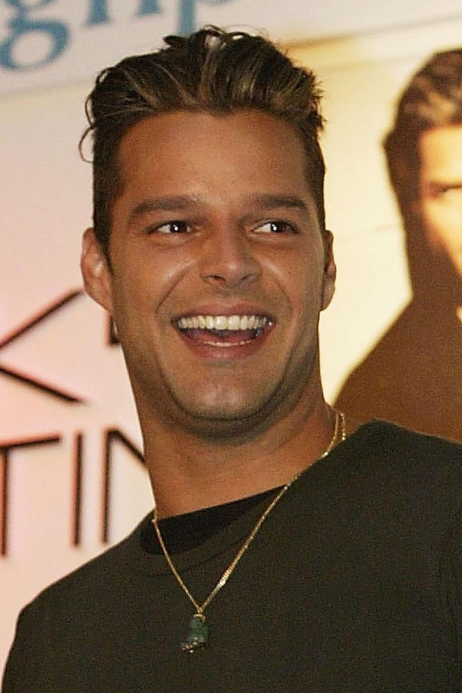 Ricky Martin sonriendo