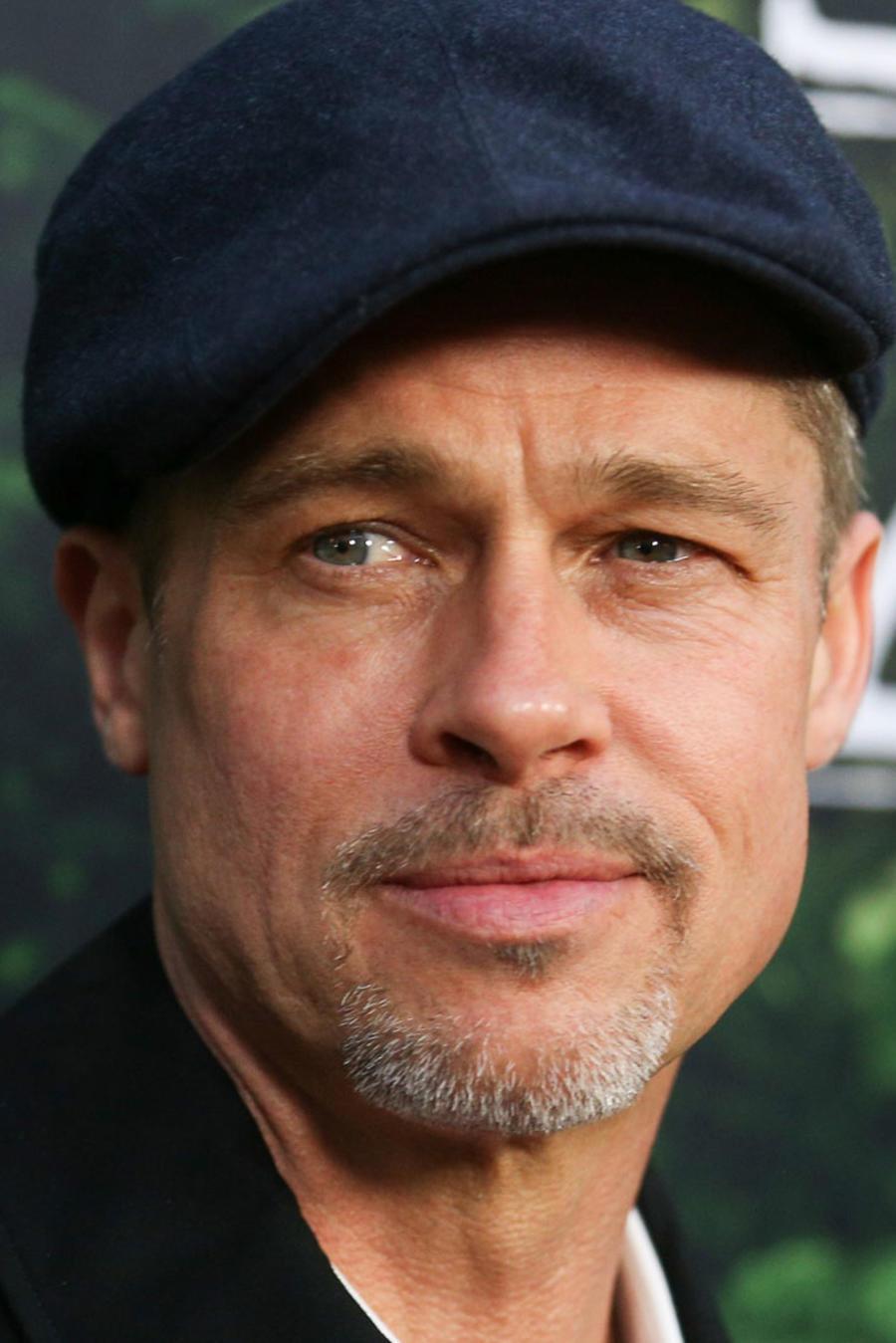 Brad Pitt en Hollywood 2017