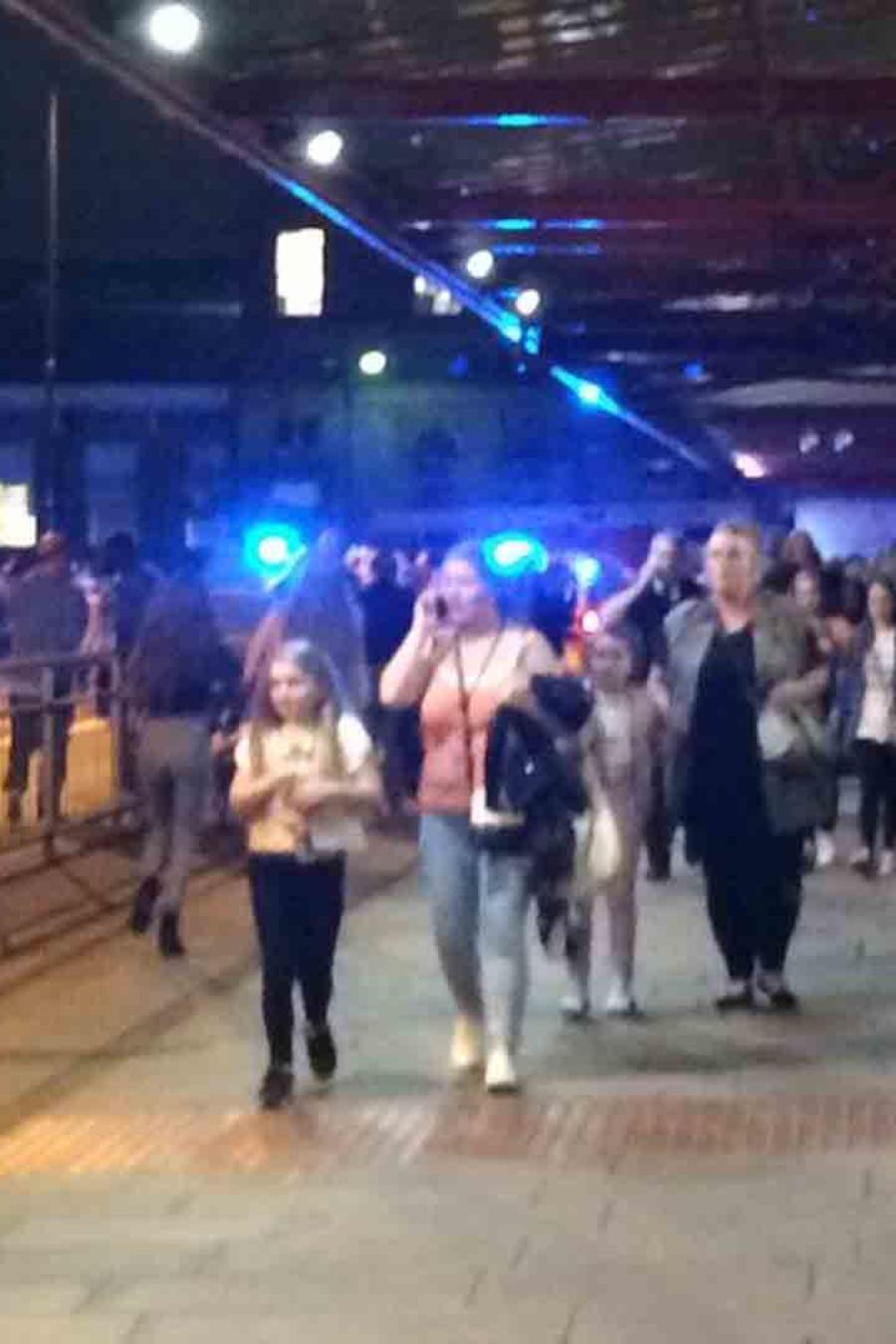 Evacuan concierto de Ariana Grande en Manchester