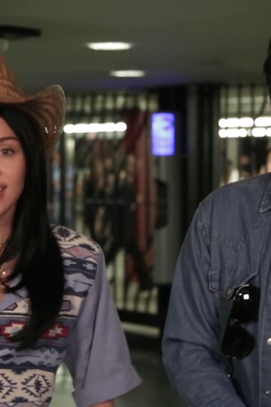 Miley Cyrus & Jimmy Fallon