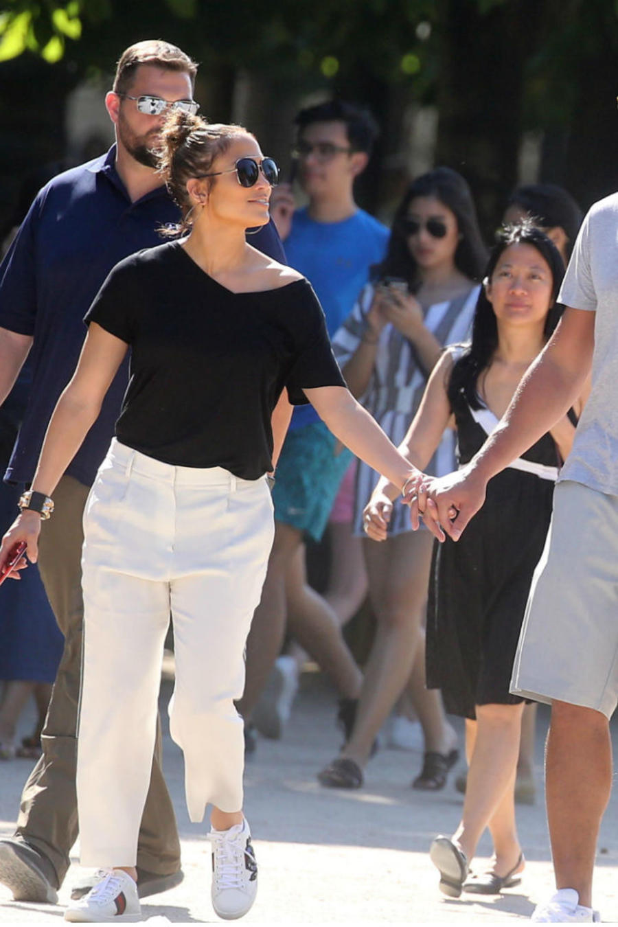 Jennifer Lopez de vacaciones en Paris con A Rod