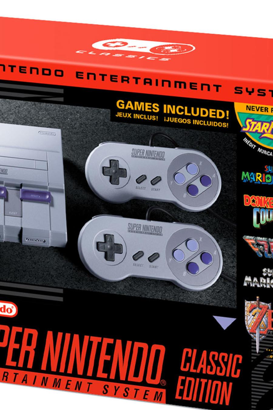 SNES Classic Edition es ya una realidad