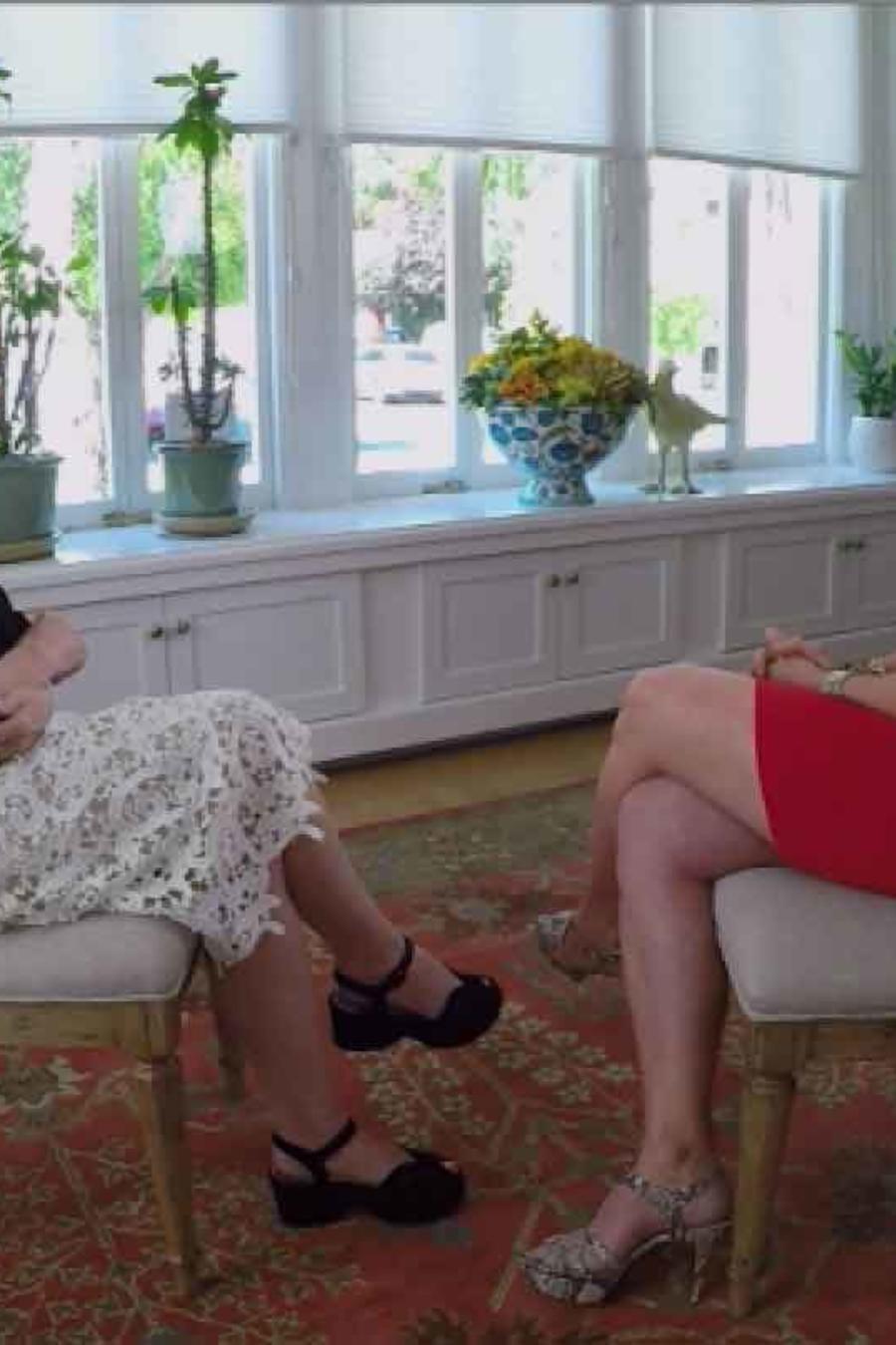 Escritora Isabel Allende en entrevista con Telemundo