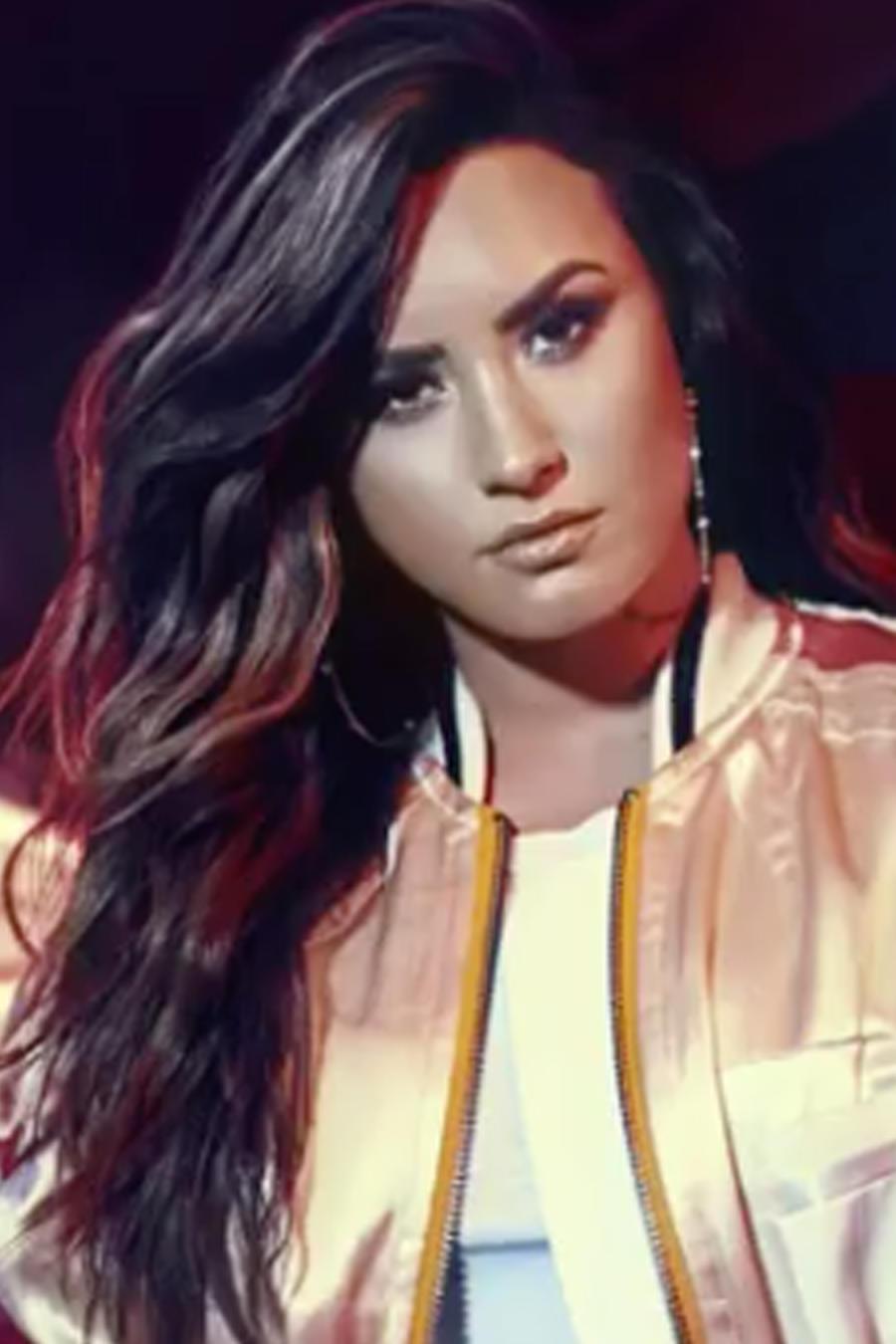 "Promocional de Demi Lovato ""Sorry Not Sorry"""