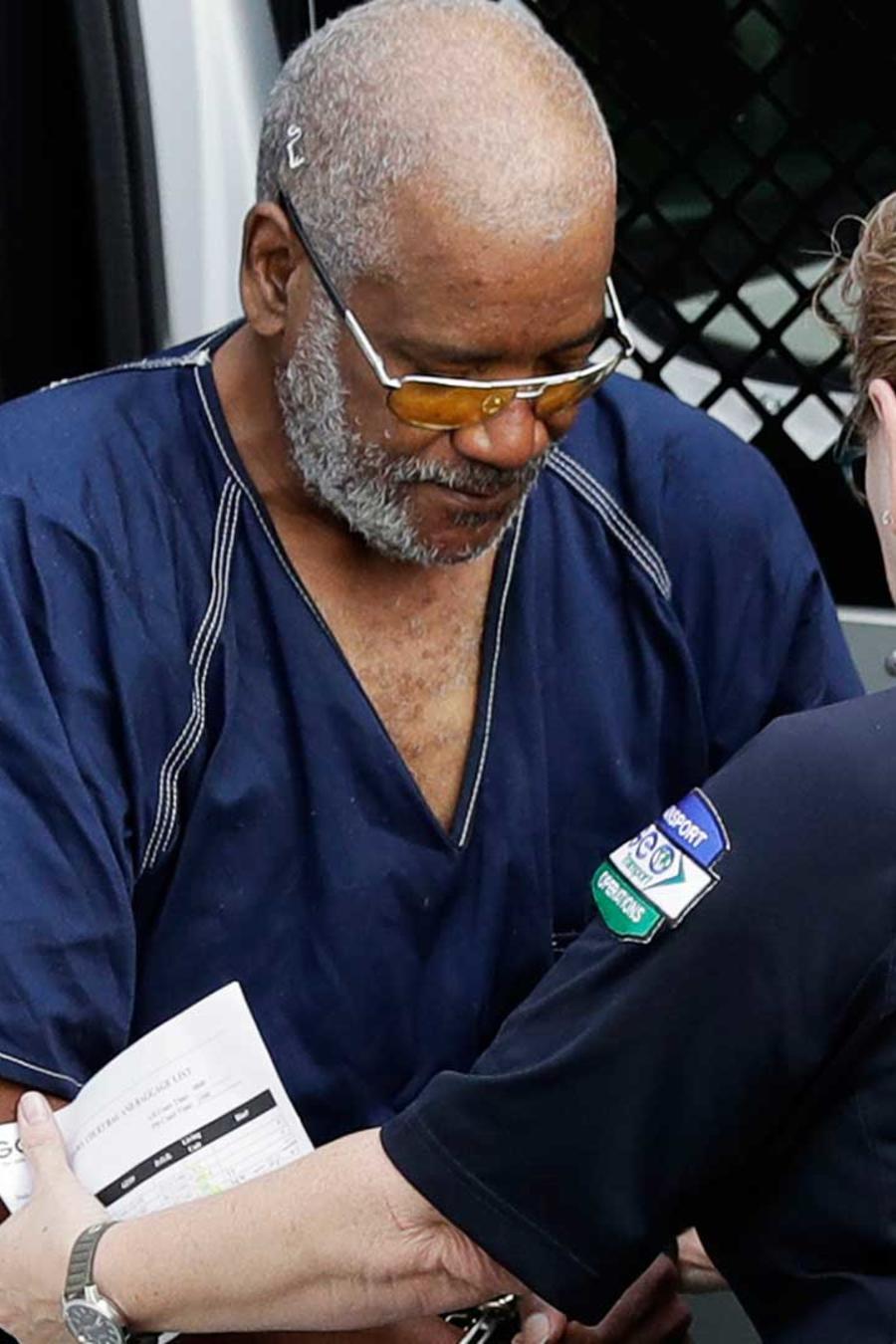 El conductor del camión de San Antonio, Texas, James Mathew Bradley Jr., a su llegada a la corte el lunes 24 de julio del 2017.