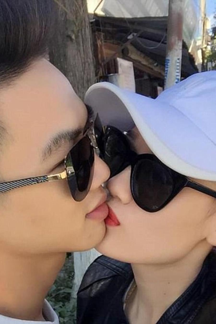 Ly Chanel con su marido Chien Keo