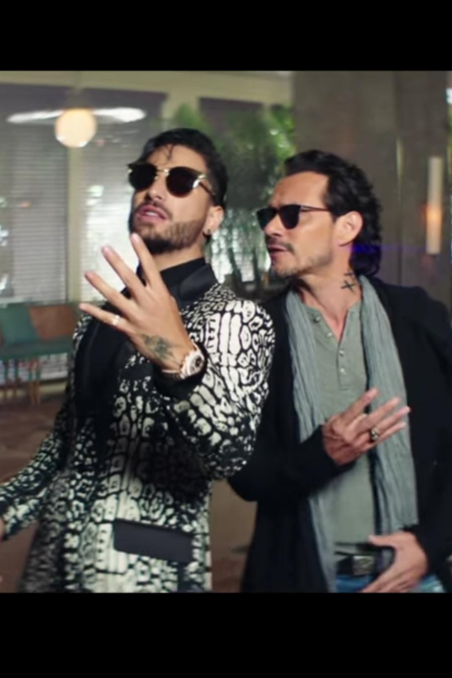 """Maluma y Marc Anthony lanzan video """"Felices los 4"""" versión salsa."""