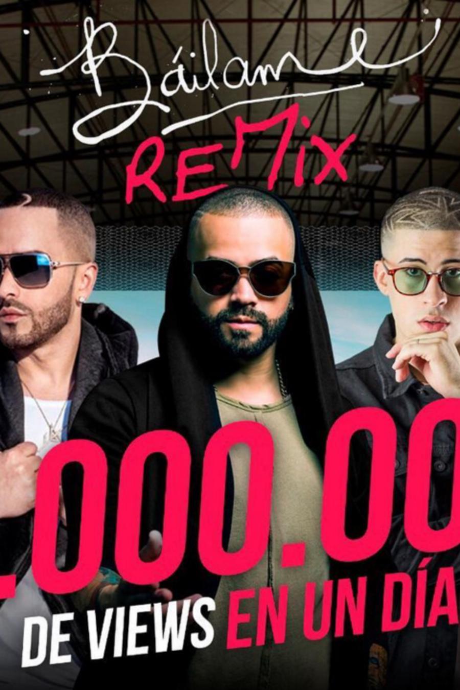 """Nacho presenta la versión remix de su éxito """"Báilame""""."""