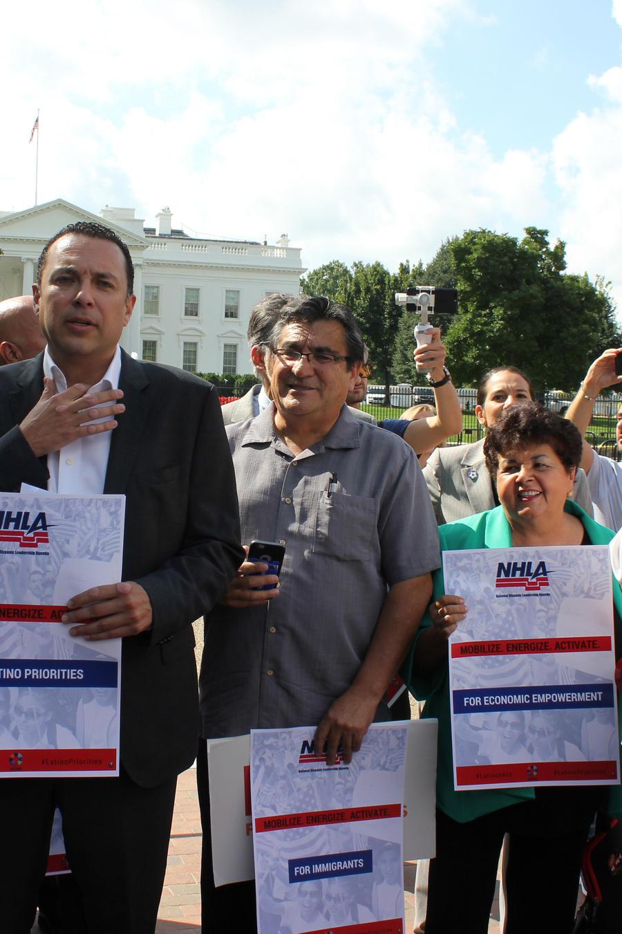 Líderes latinos de Estados Unidos lanzan una campaña de movilizaciones con miras a 2018.