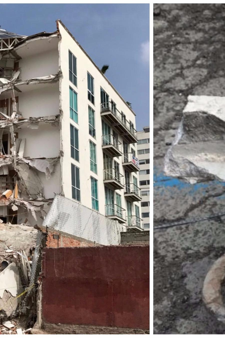edificio que colapsó
